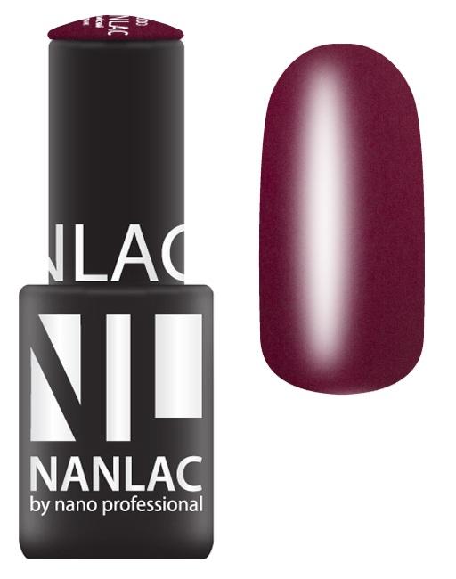 NANO PROFESSIONAL 1007 гель-лак для ногтей, бразильский поцелуй / NANLAC 6 мл