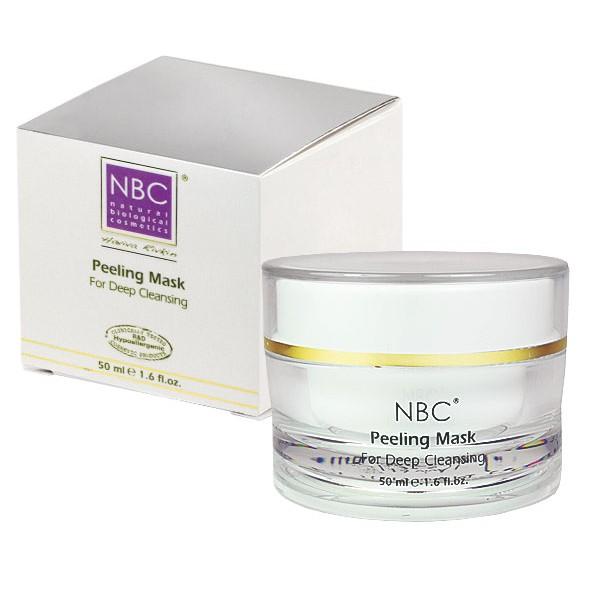 NBC Haviva Rivkin Маска пилинг / Peeling Mask 50млПилинги<br>Благодаря особому составу и консистенции, маска пилинг подходит для любого типа кожи. Прекрасно очищает кожу и удаляет отмершие клетки, сокращает поры, повышает циркуляцию крови и способствует регенерации клеток кожи. В ней содержатся смягчающие вещества, благодаря чему кожа сохраняет нормальную влажность и эластичность.Успокаивает и отбеливает кожу. Активные ингредиенты: минеральное масло, оксид цинка, парафин, крахмал, салициловая кислота, экстракт мяты перечной. Способ применения: рекомендуется накладывать 2 раза в неделю (при анормальной пигментации ежедневно) на 20-30 минут. Снимают маску влажным тампоном с использованием солевых гранул, что способствует большей очистке кожи. Снимать маску осторожными круговыми движениями по линиям массажа.<br>
