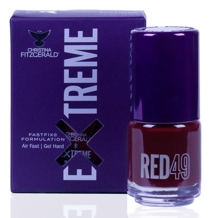 Купить CHRISTINA FITZGERALD Лак для ногтей 49 / RED EXTREME 15 мл, Красные