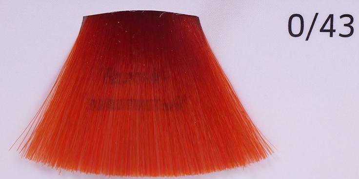 WELLA 0/43 красно-золотистый краска д/волос / Koleston Perfect Innosense 60млКраски<br>0/43 красно-золотистыйПремиальная линия оттенков для насыщенного стойкого окрашивания с сохранением всех выдающихся качеств Wella Koleston Perfect. Уменьшается риск возникновения аллергии на основе революционной молекулы ME+. На 100% закрашивает седину. Придает больше блеска. Осветление до 3 уровней. Превосходная стойкость и равномерность. Глубокие насыщенные цвета. Для ярких многогранных образов. Способ применения: Темнее / тон в тон / на 1 тон светлее 1:1 Осветление на 2 тона 1:1 Осветление на 3 тона 1:1 При окрашивании седых волос необходимо добавление Чистого Натурального тона для достижения желаемого покрытия седины. Окрашивание отросших корней: нанести красящую смесь только на прикорневую часть, с теплом: 15-25 минут, без тепла: 30-40 минут. Окрашивание всей массы волос: тон в тон/темнее: нанести красящую смесь по всей длине волос от корней до концов, с теплом: 15-25 минут, без тепла: 30-40 минут. Осветление: Шаг 1:Нанести краску только по длине волос и на концы, с теплом: 10 минут, без тепла: 20 минут. Красные оттенки: с теплом: 15 минут, без тепла: 30 минут. Шаг 2:Нанести на прикорневую часть, с теплом: 15-25 минут, без тепла: 30-40 минут.<br><br>Вид средства для волос: Стойкая<br>Типы волос: Седые
