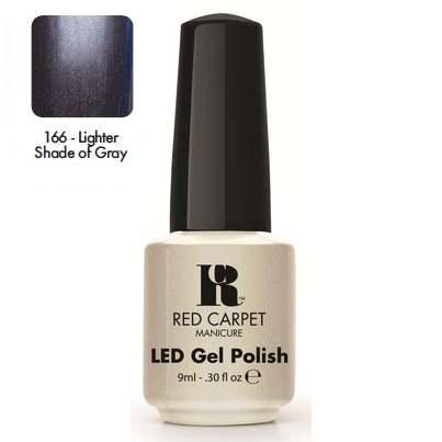 """RED CARPET 166 ����-��� ��� ������ """"Lighter Shade of Gray"""" / LED Gel Polish 9��~"""