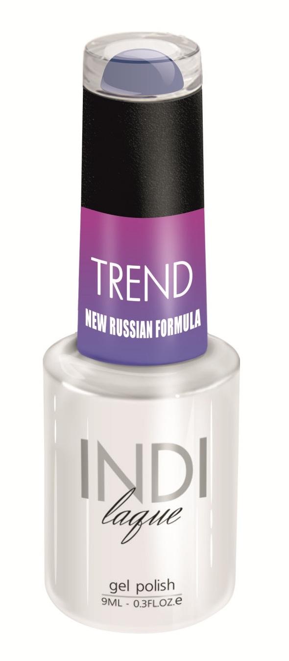 Купить RuNail 5059 гель-лак для ногтей / INDI laque Trend 9 мл, Синие