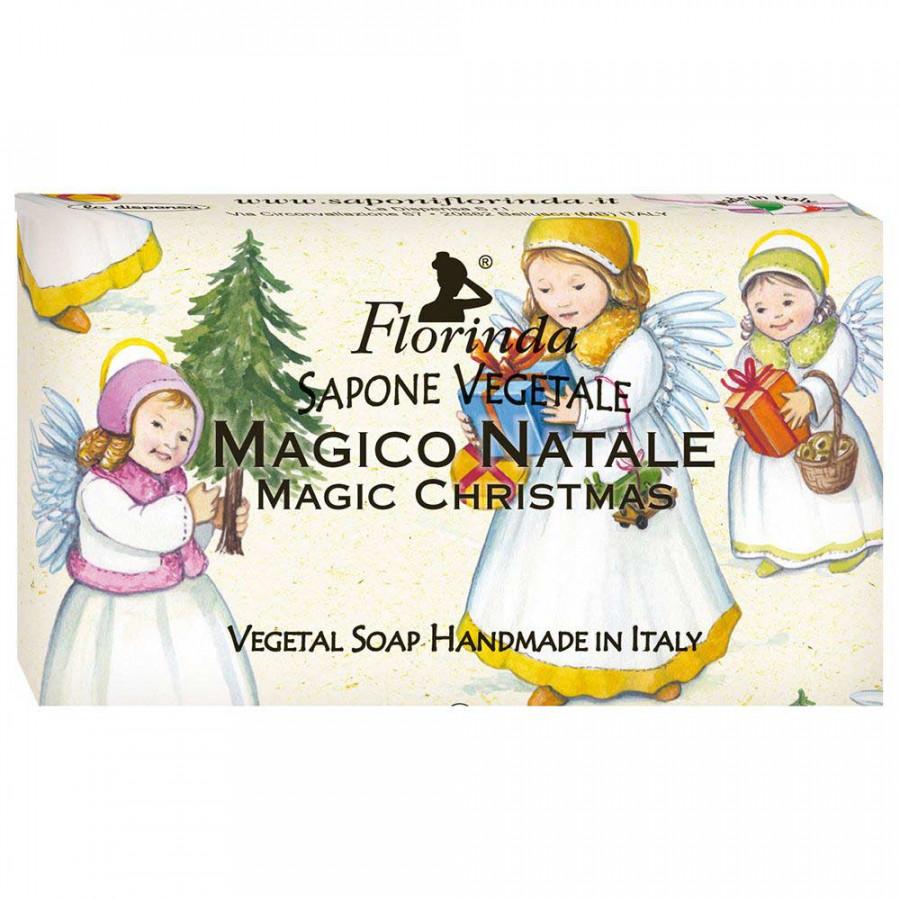 Купить FLORINDA Мыло растительное, магия рождества / Magico Natale 100 г