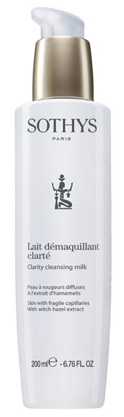 Купить SOTHYS Молочко очищающее с экстрактом гамамелиса для кожи с хрупкими капиллярами / ESSENTIAL PREPARING TREATMENTS 200 мл