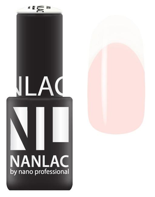 Купить NANO PROFESSIONAL 1200 гель-лак для ногтей, белый ангел / NANLAC 6 мл, Белые