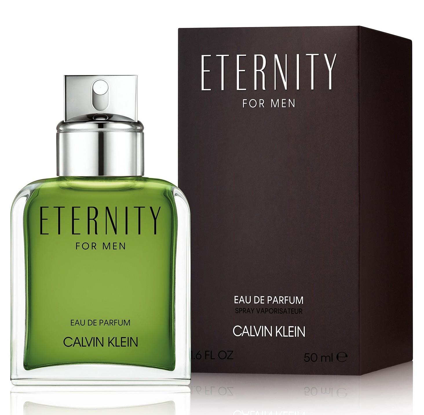 CALVIN KLEIN Вода парфюмерная мужская Calvin Klein Eternity For Men Edp 50 мл фото