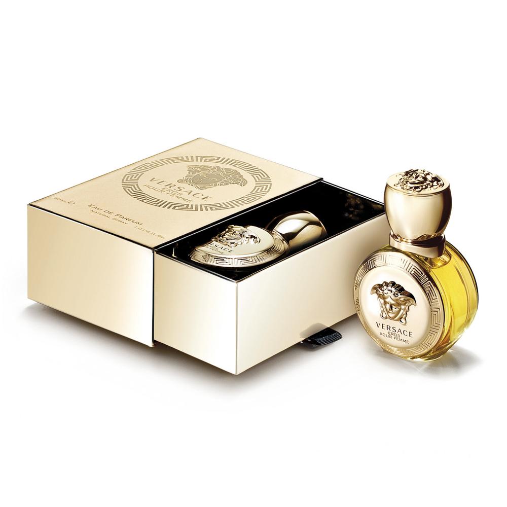 Купить VERSACE Вода парфюмированная женская Versace Eros Pour Femme 30 мл