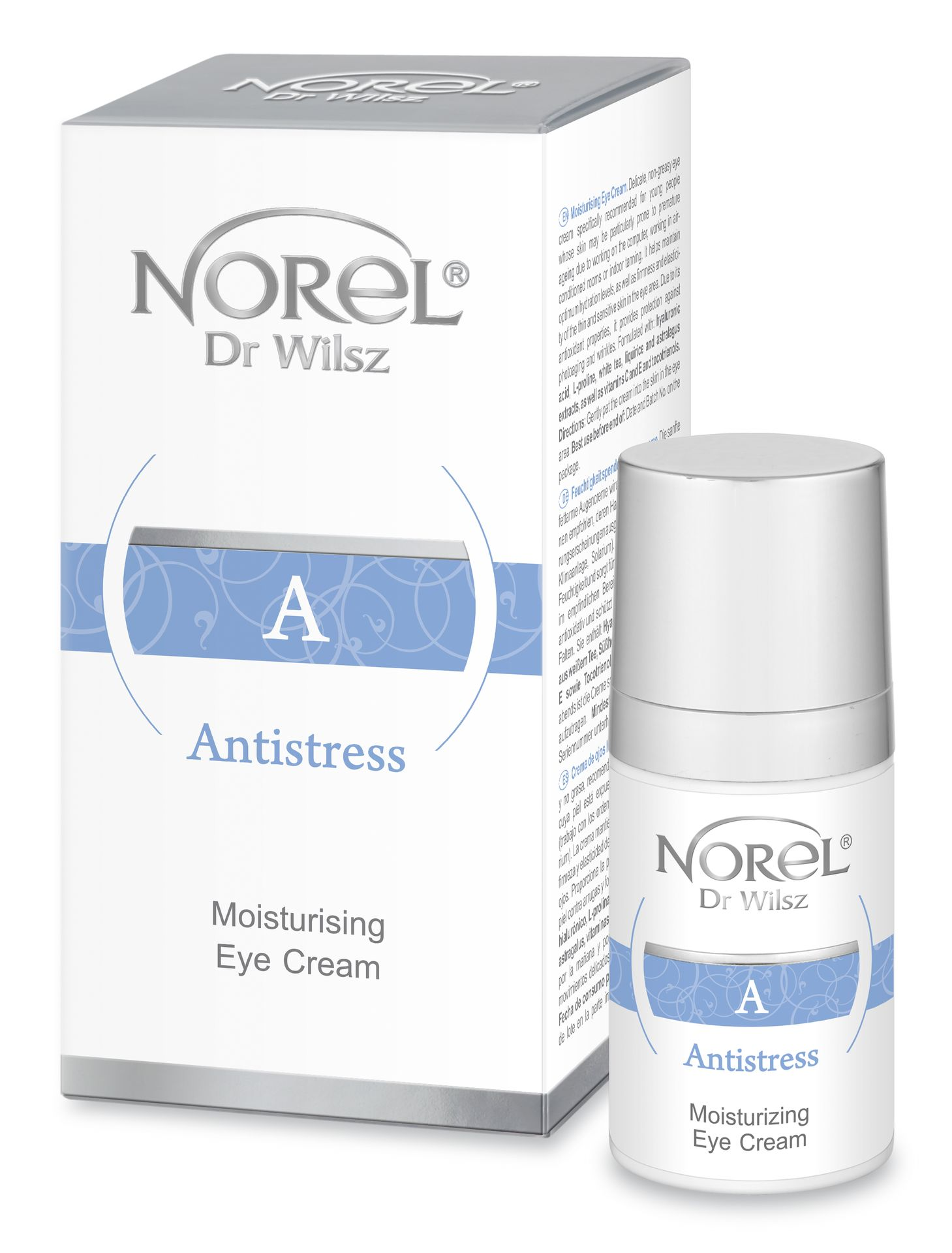 NOREL Dr. Wilsz Эмульсия увлажняющая для кожи вокруг глаз / Soothing and moisturizing eye emulsion 15 мл - Эмульсии