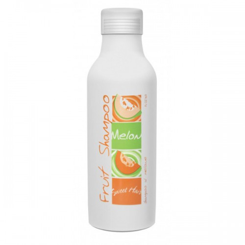 HAIR COMPANY Шампунь с молоком дыни / Shampoo Melone SWEET HAIR 500млШампуни<br>Шампунь на основе экстракта дыни с сильным восстанавливающим эффектом, идеально подходит для средних, длинных, вьющихся волос от природы, завитых волос. Придает тусклым и сухим волосам упругость и блеск. В состав также включен Кератин, который наполняет волосы здоровьем и силой изнутри. Активный состав: Экстракт дыни, кератин. Применение: Нанести шампунь на влажные волосы, хорошо промассировать. Оставить в течение 1-2 минут для усиления ухаживающего эффекта. Тщательно смыть. При необходимости повторить.<br><br>Объем: 500<br>Назначение: после завивки