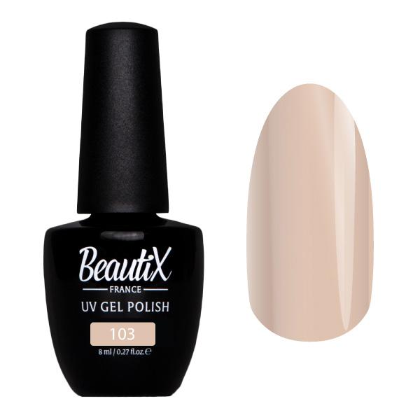 Купить BEAUTIX 103 гель-лак для ногтей 8 мл, Коричневые