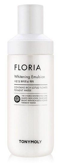 TONYMOLY Эмульсия отбеливающая для лица / Floria Whitening Emulsion6 130 мл