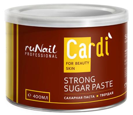 RuNail Паста сахарная твердая / Cardi 400 мл