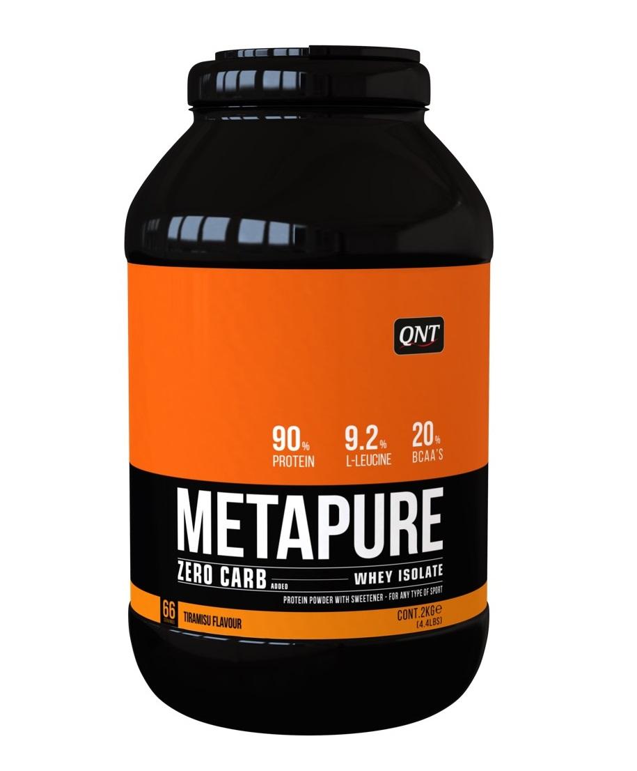 Купить QNT Добавка биологически активная к пище Метапьюр зеро карб, тирамису / ZERO CARB METAPURE Tiramisu 2 кг