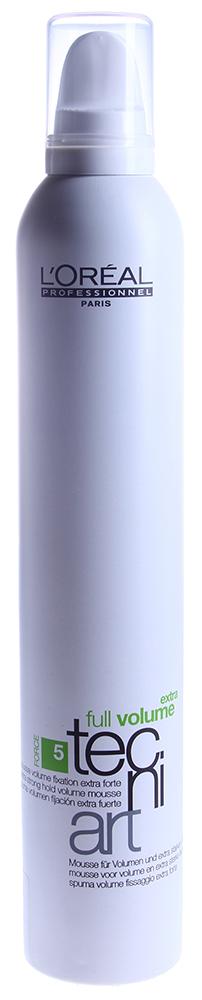 LOREAL PROFESSIONNEL Мусс для объема нормальных непослушных волос (5) Фулл Волюм Экстра / VOLUME tecni.art 400мл
