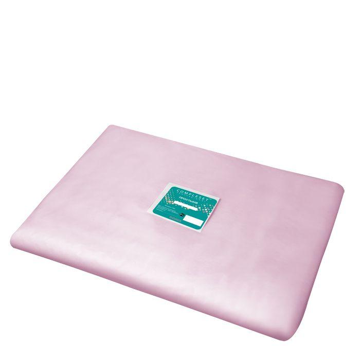Купить DOMIX Простыня в сложении SMS 15 80*200 см розовая Эконом 20 шт/уп