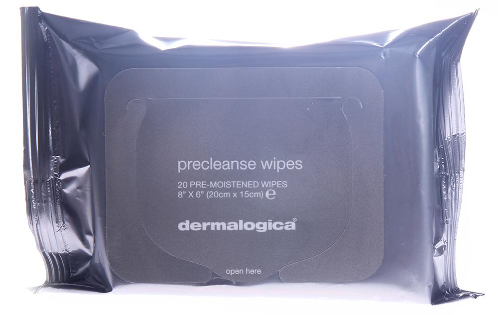 DERMALOGICA Салфетки влажные для очищения кожи / Precleanse Wipes 20штСалфетки<br>Здоровье и истинная чистота кожи начинается с ее очищения. Первый шаг техники Двойного Очищения   это продукт Precleanse. Салфетки PreCleanse мгновенно удаляют избыток кожного сала (себума), остатки солнцезащитных средств, водостойкую косметику, загрязнения (из внешней окружающей среды), которые скапливаются на поверхности кожи в течение дня. Добавьте воды, чтобы превратить нежную формулу продукта в молочную эмульсию, которая легко удалит загрязнения с поверхности кожи, позволив наносимому затем Очистителю Dermalogica более глубоко проникать в кожу, обеспечивая профессиональный уровень очищения. Салфетки PreCleanse можно использовать даже в зоне вокруг глаз для устранения водостойкой туши. Продукт обеспечивает глубокое очищение и подходит даже для очень жирной кожи. Салфетки подвергаются биораспаду. Не содержат искусственных красителей и отдушек. Активные ингредиенты: экстракт алое, масло абрикоса, рисовые отруби, витамин Е, жирные кислоты.Способ применения: откройте упаковку, приподняв клапан. Протрите салфеткой все лицо. Можно также намочить салфетку водой и продолжать выполнять массажные движения для получения легкой нежной эмульсии. Смойте теплой водой. Затем используйте рекомендованный Очиститель Dermalogica для обеспечения профессиональных результатов очищения кожи. Плотно закройте клапан, чтобы предупредить высыхание салфеток. Для обеспечения профессиональных результатов очищения кожи, используйте подходящий Вашей коже очиститель Dermalogica.<br><br>Класс косметики: Профессиональная