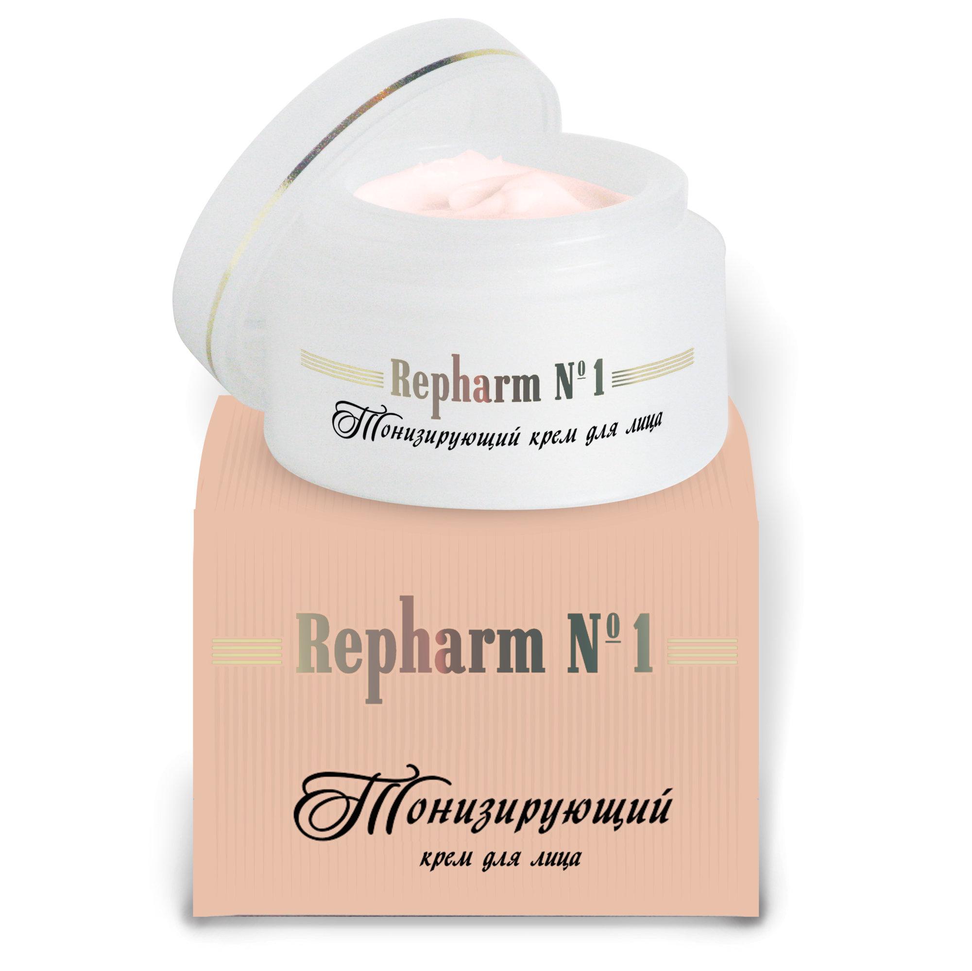 РЕФАРМ Крем для лица тонизирующий  РЕФАРМ  1  / Repharm 50млКремы<br>Рекомендуется как основное средство ухода за зрелой кожей любого типа. Активизирует обменные процессы в клетках, содержит растительные экстракты родиолы розовой, боярышника, конского каштана, аденозин монофосфат, лимонную и янтарную кислоты, витамины и бисфосфатный комплекс. Крем насыщает кожу влагой, подтягивает ее (лифтинг-эффект), разглаживает мелкие морщинки.<br><br>Объем: 50 мл<br>Вид средства для лица: Тонизирующий