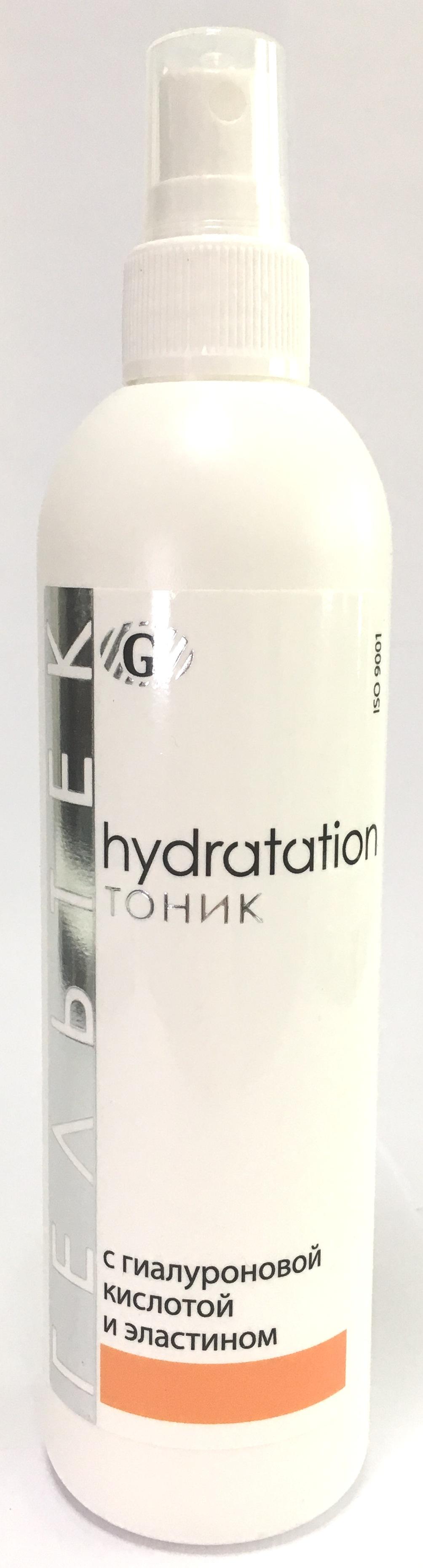ГЕЛЬТЕК Тоник с гиалуроновой кислотой и эластином / Hydratation 300 г