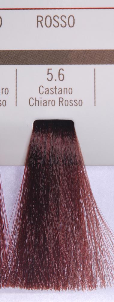 BAREX 5.6 краска для волос / PERMESSE 100млКраски<br>Оттенок: Светлый каштан красный. Профессиональная крем-краска Permesse отличается низким содержанием аммиака - от 1 до 1,5%. Обеспечивает блестящий и натуральный косметический цвет, 100% покрытие седых волос, идеальное осветление, стойкость и насыщенность цвета до следующего окрашивания. Комплекс сертифицированных органических пептидов M4, входящих в состав, действует с момента нанесения, увлажняя волосы, придавая им прочность и защиту. Пептиды избирательно оседают в самых поврежденных участках волоса, восстанавливая и защищая их. Масло карите оказывает смягчающее и успокаивающее действие. Комплекс пептидов и масло карите стимулируют проникновение пигментов вглубь структуры волоса, придавая им здоровый вид, блеск и долговечность косметическому цвету. Активные ингредиенты:&amp;nbsp;Сертифицированные органические пептиды М4 - пептиды овса, бразильского ореха, сои и пшеницы, объединенные в полифункциональный комплекс, придающий прочность окрашенным волосам, увлажняющий и защищающий их. Сертифицированное органическое масло карите (масло ши) - богато жирными кислотами, экстрагируется из ореха африканского дерева карите. Оказывает смягчающий и целебный эффект на кожу и волосы, широко применяется в косметической индустрии. Масло карите защищает волосы от неблагоприятного воздействия внешней среды, интенсивно увлажняет кожу и волосы, т.к. обладает высокой степенью абсорбции, не забивает поры. Способ применения:&amp;nbsp;Крем-краска готовится в смеси с Молочком-оксигентом Permesse 10/20/30/40 объемов в соотношении 1:1 (например, 50 мл крем-краски + 50 мл молочка-оксигента). Молочко-оксигент работает в сочетании с крем-краской и гарантирует идеальное проявление краски. Тюбик крем-краски Permesse содержит 100 мл продукта, количество, достаточное для 2 полных нанесений. Всегда надевайте подходящие специальные перчатки перед подготовкой и нанесением краски. Подготавливайте смесь крем-краски и молочка-оксигента Permesse в немет