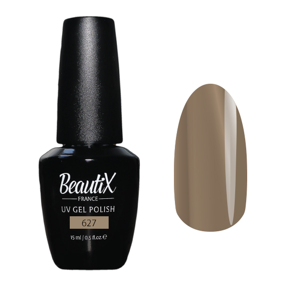 Купить BEAUTIX 627 гель-лак для ногтей 15 мл, Коричневые