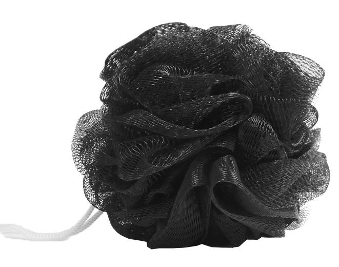 Купить DEWAL BEAUTY Мочалка для тела, черная 1 шт