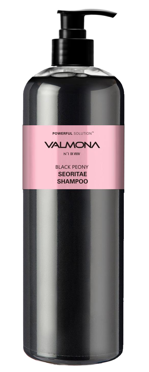 Купить EVAS Шампунь для волос Черный пион - бобы / VALMONA Powerful Solution Black Peony Seoritae Shampoo 480 мл