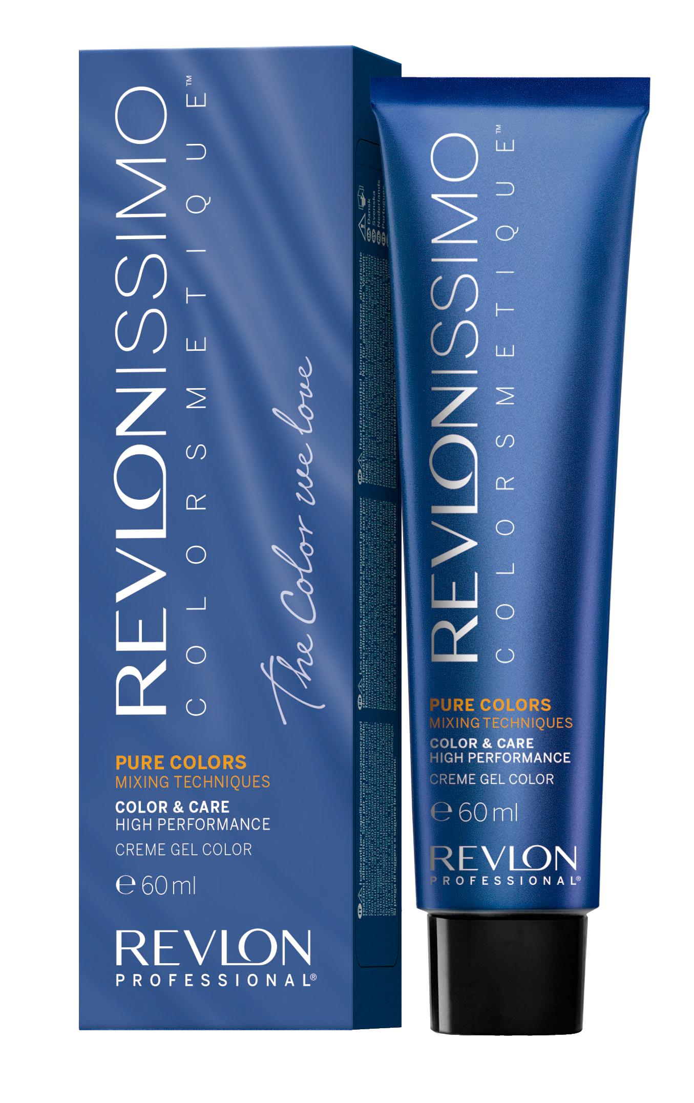 REVLON Professional 0.11 краска для волос, интенсивный пепел / RP REVLONISSIMO COLORSMETIQUE PURE COLORS 60 мл