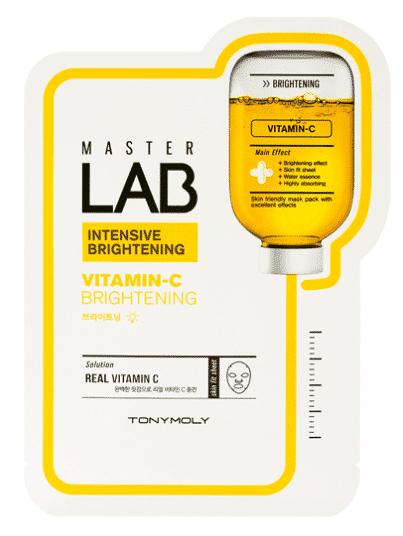 Купить TONY MOLY Маска с витамином С для лица / Master Lab Vitamin C Mask 19 г