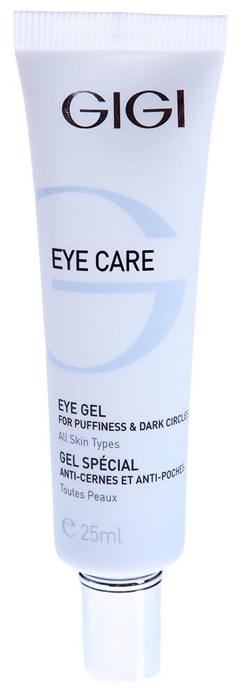 GIGI Гель от отеков и темных кругов для век / Gel EYE CARE 20млГели<br>Ультралегкий гель позволяет устранить пастозность и отечность периорбитальной области и избавиться от темных кругов под глазами благодаря своим активным компонентам. Гель очень экономичен, не оставляет ощущения липкости. Действие: Гель также снимает следы усталости, успокаивает раздраженную кожу век, разглаживает так называемые гусиные лапки, замедляет возрастные изменения хрупкой кожи глаз. Не нарушает рН, тонизирует, оказывает противовоспалительное действие. Обеспечивает протекцию от УФ лучей. Активные ингредиенты: Haloxyl, Pepha-Tight, Regu-Age, экстракт водорослей, гидролизированные протеины риса и сои. Способ применения: Гель наносить утром и вечером на чистую кожу век круговыми движениями. Для достижения лучшего результата, поверх применять сыворотку или интенсивный крем.<br><br>Объем: 20<br>Назначение: Отечность