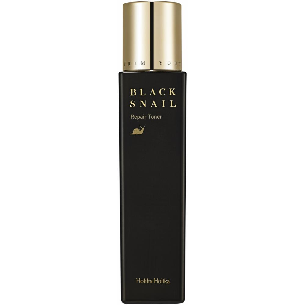 HOLIKA HOLIKA Тонер восстанавливающий для лица Прайм Йос Блэк Снэйл / Prime Youth Black Snail Repair Toner 160 мл holika holika восстанавливающая эссенция для лица прайм йос блэк снэил 50 мл