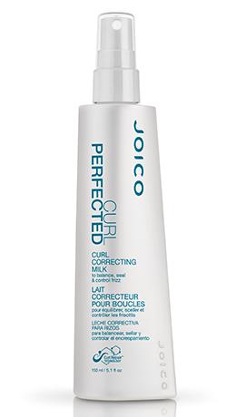 JOICO Молочко несмываемое для расчесывания кудрявых волос / CURL PERFECTED CURL CORRECTING MILK 150млМолочко<br>Выравнивает pH-баланс волос и подготавливает волосы к последующему стайлингу. Делает волосы эластичными, идеально гладкими по всей длине, надежно защищенными от образования пушащихся волос. Придает дополнительный блеск и управляемость. Способ применения: Распылите на подсушенные полотенцем волосы&amp;nbsp; Придайте руками нужную форму, прорабатывая кудри по направлению снизу вверх&amp;nbsp; Укладывайте волосы по желанию<br><br>Объем: 150 мл<br>Вид средства для волос: Несмываемый