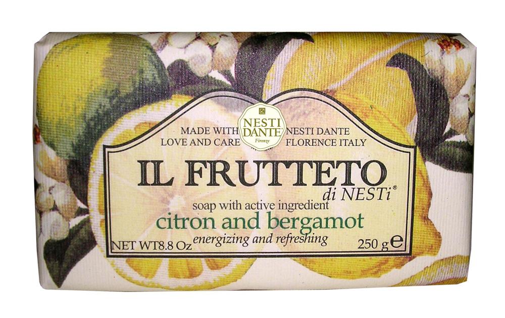 NESTI DANTE Мыло Лимон и бергамот 250 г