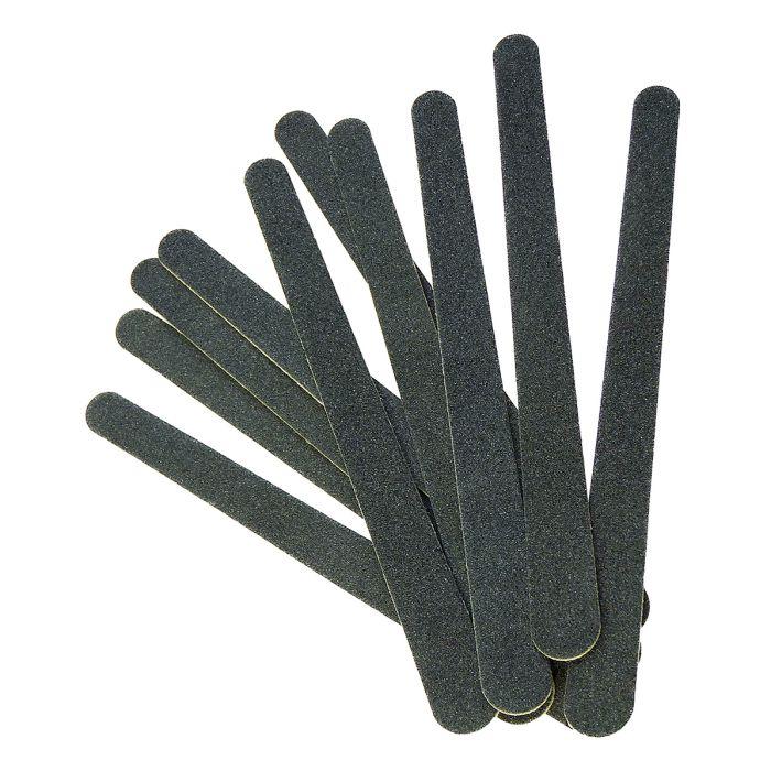 Купить SILVER STAR Пилка для маникюра 120 мм, черная 150/120 10 шт