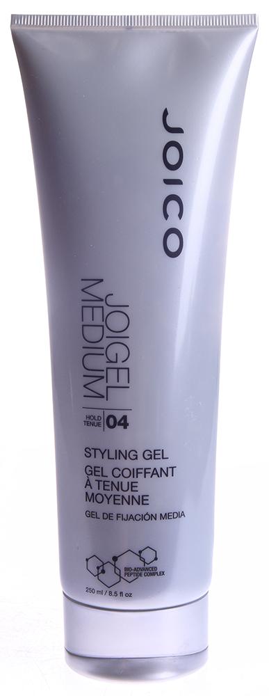 JOICO Гель средней фиксации для укладки (фиксация 4) / STYLE &amp; FINISH 250млГели<br>Делает волосы эластичными и послушными, придавая им объем и блеск, не накапливается на волосах. Делает кудри более четко выраженными, придает им гладкость и создает эффект мокрых волос. Защищает волосы от ежедневного вредного воздействия окружающей среды и УФ-лучей. Не содержит спирт. Способ применения: разотрите средство в ладонях и затем нанесите на волосы. Высушите волосы, придавая им объем руками, щеткой, диффузором фена или высушите их естественным путем (для эффекта мокрых волос).<br>