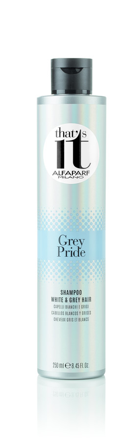 ALFAPARF MILANO ������� ���������� ��� ������� � ����� ����� / THAT'S IT GREY PRIDE SHAMPOO 250��