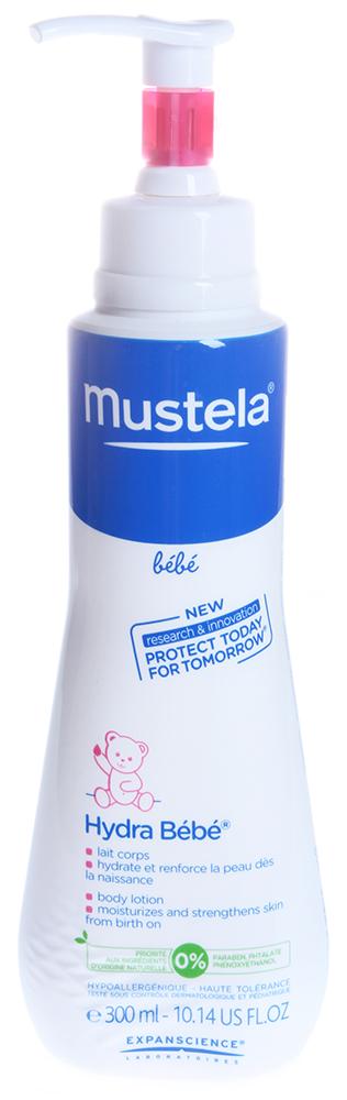 MUSTELA Крем для тела увлажняющий Hydra / МУСТЕЛА БЕБЕ 300млКремы<br>Увлажняющий крем для тела для новорожденных, младенцев и детей с дозатором Hydra Bebe обеспечивает длительное увлажнение, эффективно восстанавливает проницаемую для воздуха гидролипидную пленку и смягчает кожу.&amp;nbsp; Активные ингредиенты: Миндальное масло, масло жожоба, масло ши.&amp;nbsp; Способ применения: Ежедневно наносите на тело после купания.<br><br>Вид средства для тела: Увлажняющий