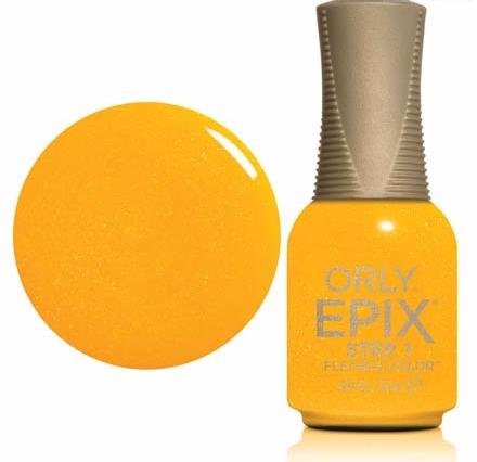 ORLY Покрытие эластичное цветное 942 PCH Summer Sunset / EPIX Flexible Color 18мл orly epix flexible sealcoat топ 18 мл