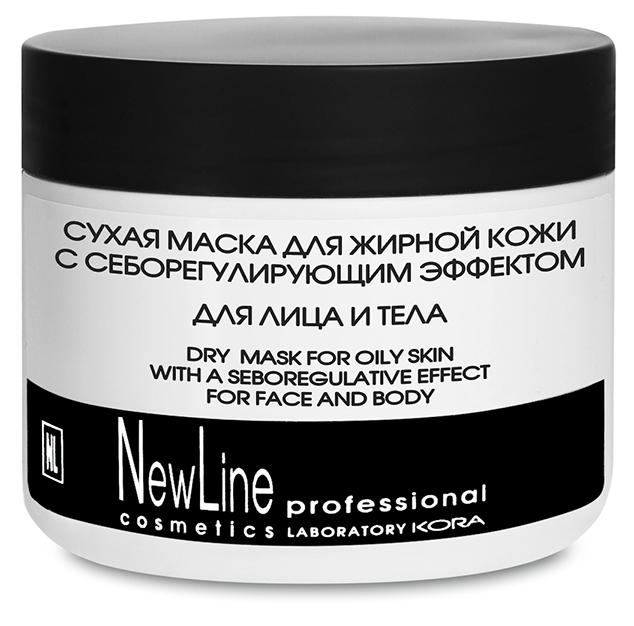 NEW LINE PROFESSIONAL Маска сухая для жирной кожи с себорегулирующим эффектом 300мл