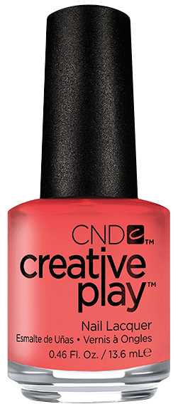 CND 405 лак для ногтей / Jammin Salmon Creative Play 13,6 мл