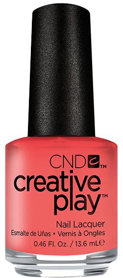 CND 405 лак для ногтей / Jammin Salmon Creative Play 13,6 мл