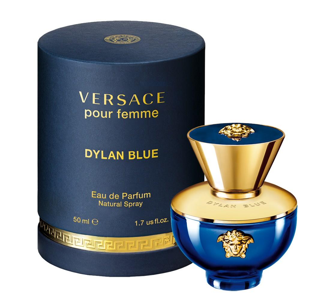 VERSACE Вода парфюмерная женская Versace Dylan Blue Pour Femme, спрей 50 мл - Парфюмерия