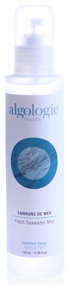 ALGOLOGIE Спрей освежающий 150млСпреи<br>Прозрачная соленая жидкость без запаха, с нейтральным уровнем рН для всех типов кожи. Действие: стимулирует и тонизирует кожу, придает ей свежесть, обладает легким охлаждающим действием, восстанавливает оптимальный минеральный баланс кожи. Активные ингредиенты: морская вода. Домашнее применение: можно использовать несколько раз в день. Распылите лосьон на лицо с расстояния 50 см, подождите 1 минуту и, в случае необходимости, промокните лицо салфеткой. Используется до или после нанесения макияжа, во время занятий спортом, в салоне самолета, в офисных помещениях с кондиционированным воздухом, во время путешествий, во время и после пребывания на солнце - во всех случаях, когда необходимо восстановить свежесть и комфорт кожи.<br><br>Объем: 150<br>Возраст применения: После 25