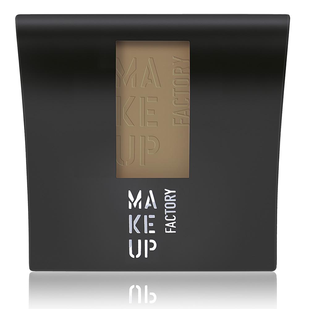 MAKE UP FACTORY Румяна компактныематовые, 46 мягкий коричневый / Mat Blusher