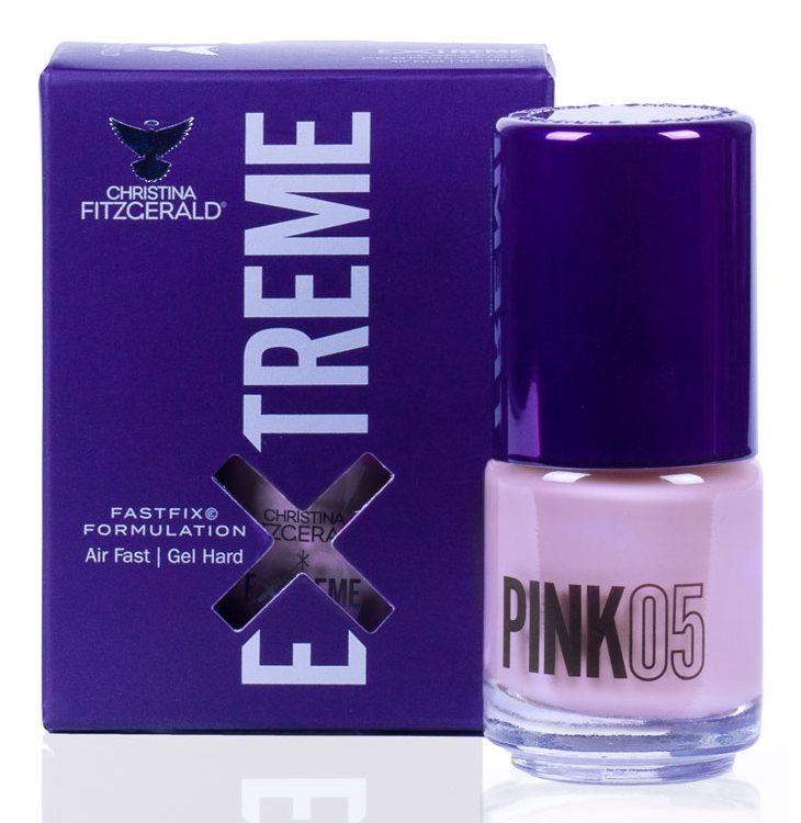 Купить CHRISTINA FITZGERALD Лак для ногтей 05 / PINK EXTREME 15 мл, Розовые