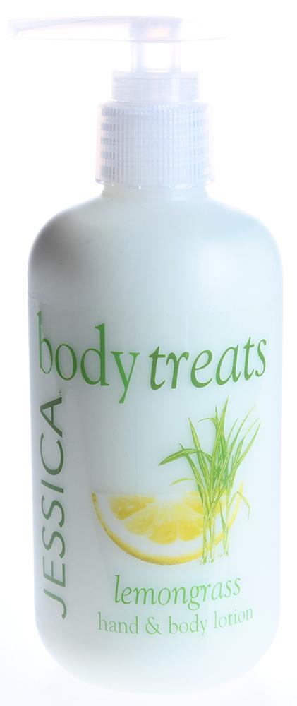 """JESSICA Лосьон взбадривающий для рук и тела """"Цитрус"""" / Body Treats Lemongrass 245мл~"""