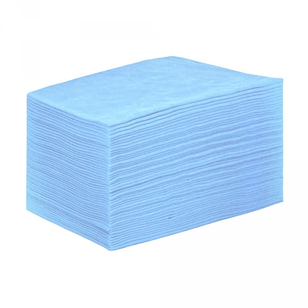 IGRObeauty Простыня 90*200 см 20 г/м2 SMS, цвет голубой 50 шт - Одноразовые простыни