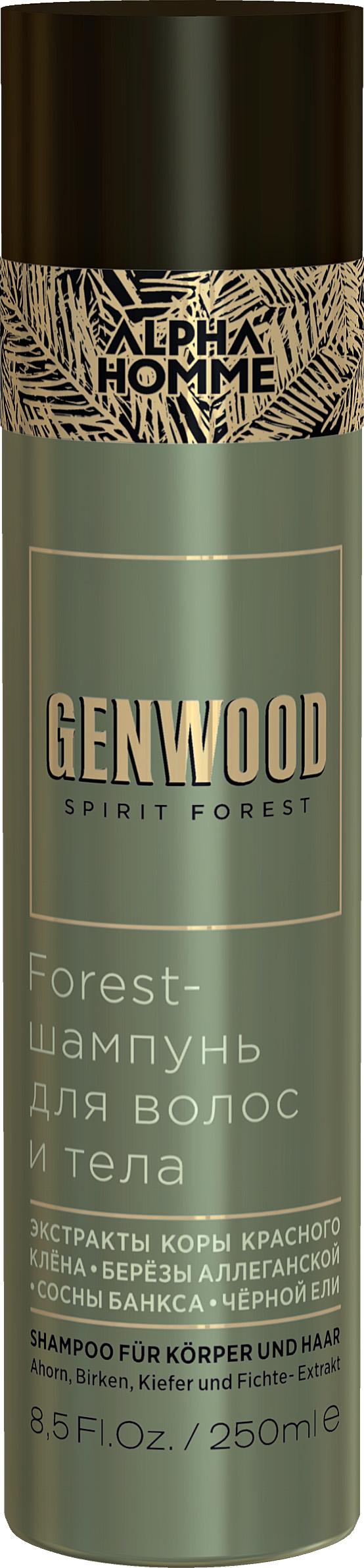 Купить ESTEL PROFESSIONAL Шампунь для волос и тела / GENWOOD Forest 250 мл