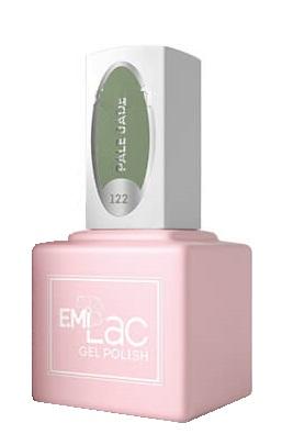 Купить E.MI 122 TGR гель-лак для ногтей, Дымчатый нефрит / E.MiLac 6 мл, Зеленые
