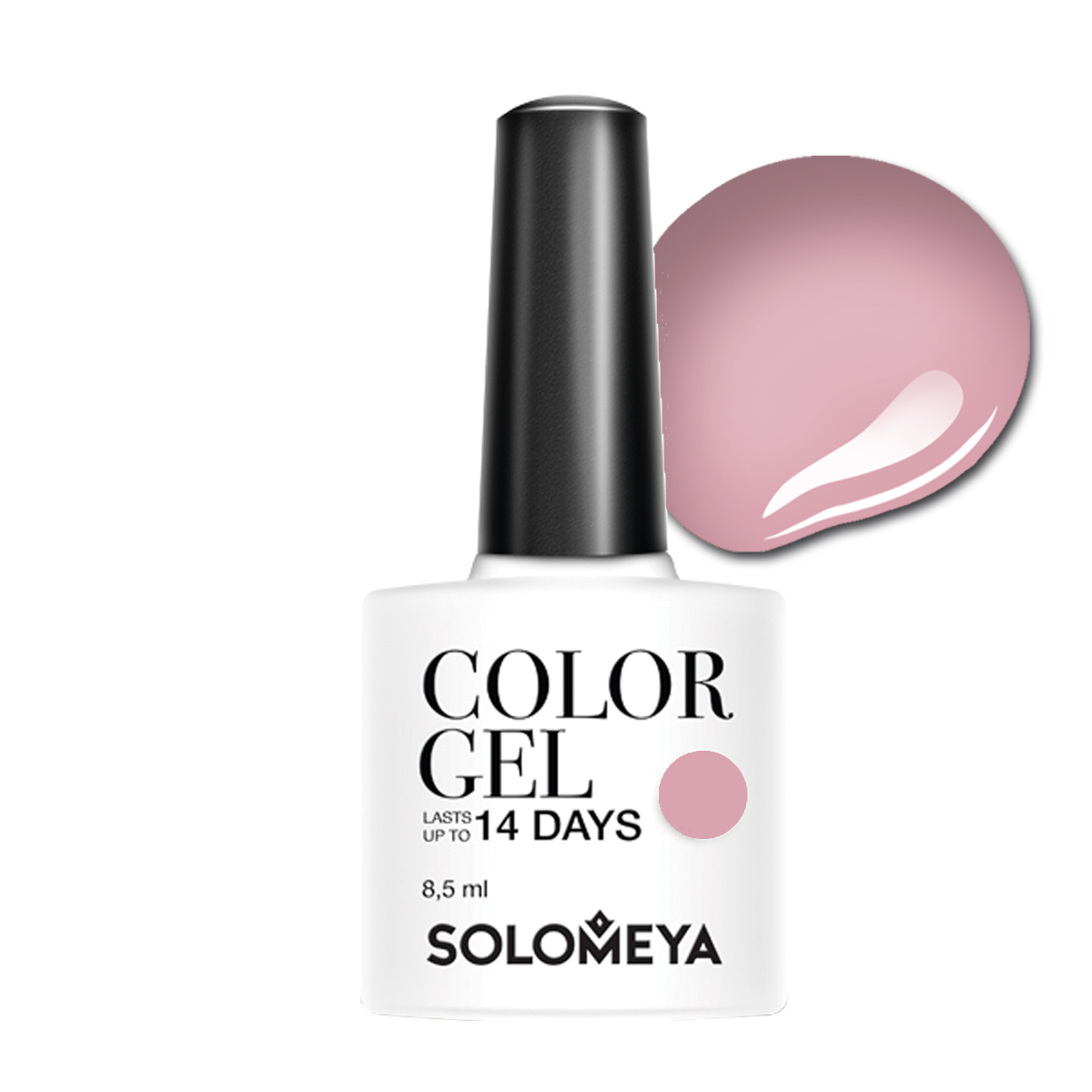 SOLOMEYA Гель-лак для ногтей SCG054 Весенняя сирень / Color Gel Spring Lilac 8,5 мл гель лак для ногтей solomeya floral garden color gel scg054 цвет ssg054 spring lilac variant hex name d6acb6