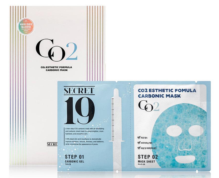 Купить ESTHETIC HOUSE Маска-активатор для процедуры неинвазивной карбокситерапии / SECRET19 CO2 Esthetic Formular Carboxy Mask Sheet 1 шт